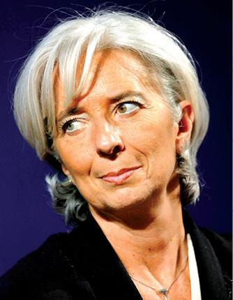 Christine Lagarde: Seeing the Light
