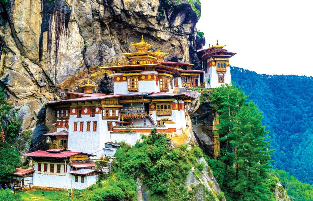 Bhutan: Taktshang Goemba (Tiger's Nest Monastery)