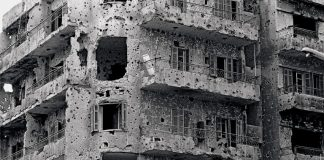 Lebanon Bomb Damage