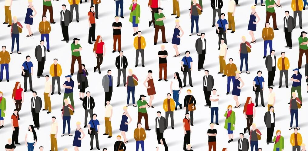Crowd People Graphic