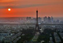 Paris Eiffel Tower La Defense