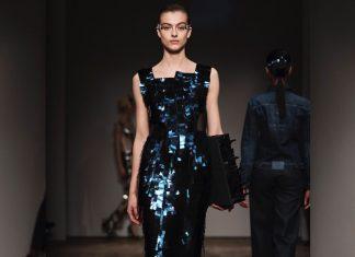Steel dresses catwalk