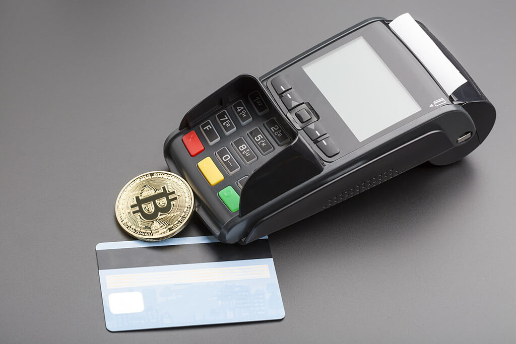 Bitcoin with credit card and POS terminal