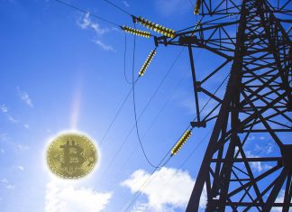 Bitcoin and power lines