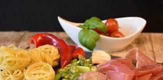 Raw Italian Ingredients