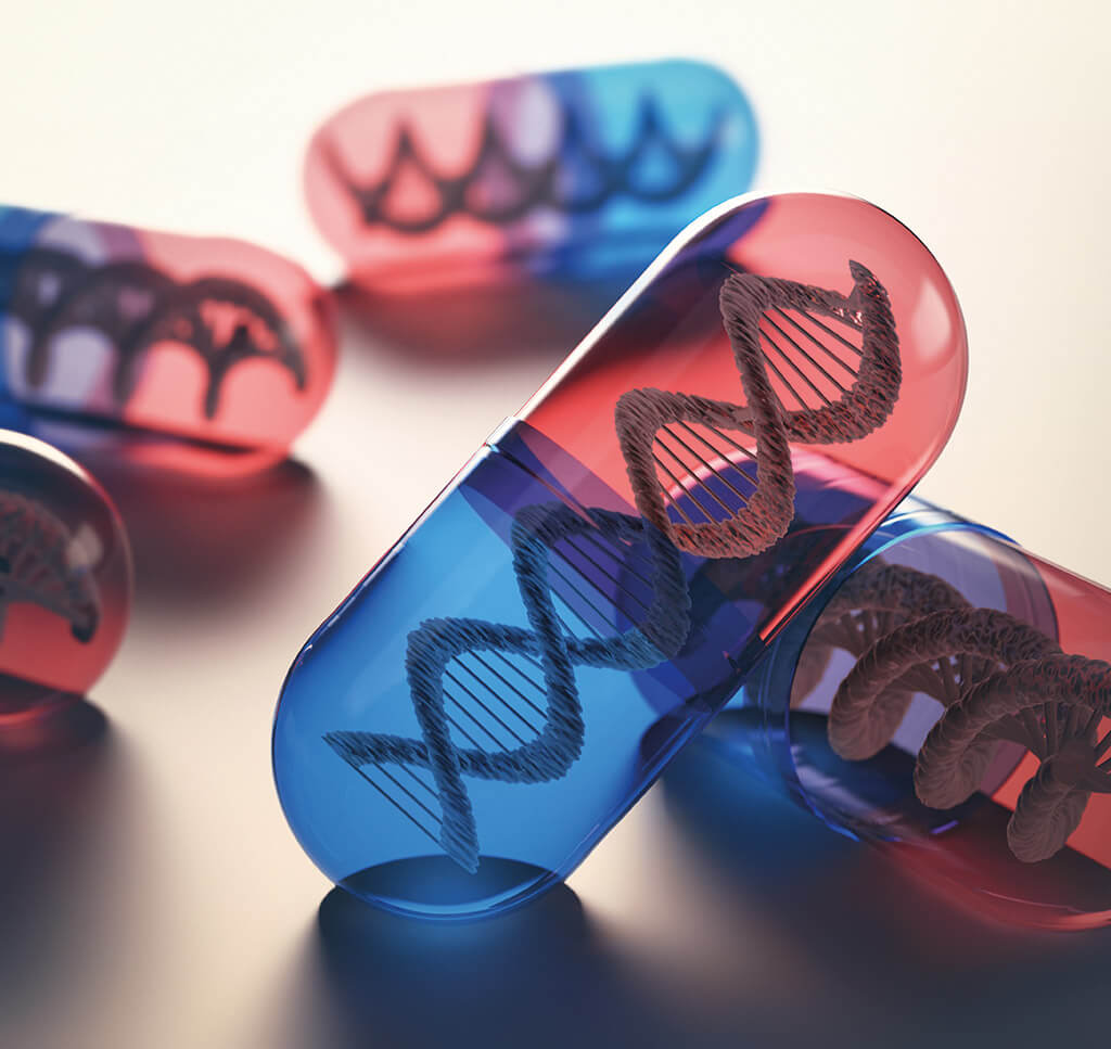 Gene therapy in a pill