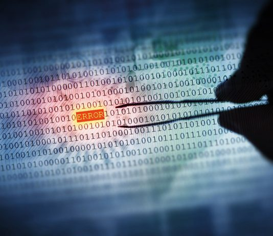 Error in binary code