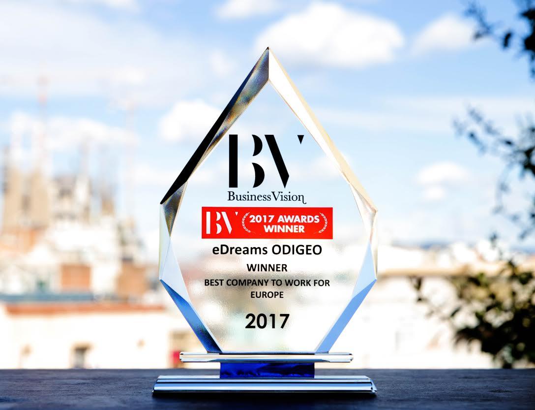 eDreams ODIGEO BV award winner