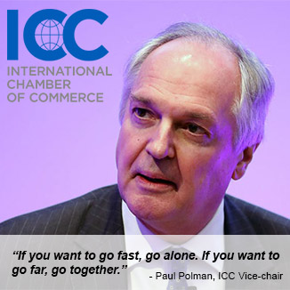 Paul Polman, ICC Vice-chair