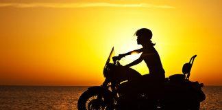 Harley Davidson sunset