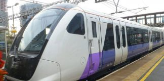 Class 345 Crossrail Train