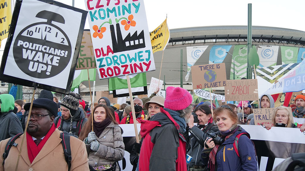 Katowice Climate Protest