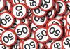 Speed limit signs - 50