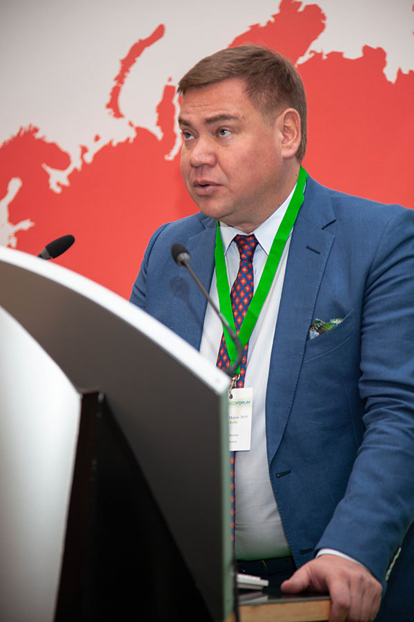 Aleksey Borisov at InterEcoForum