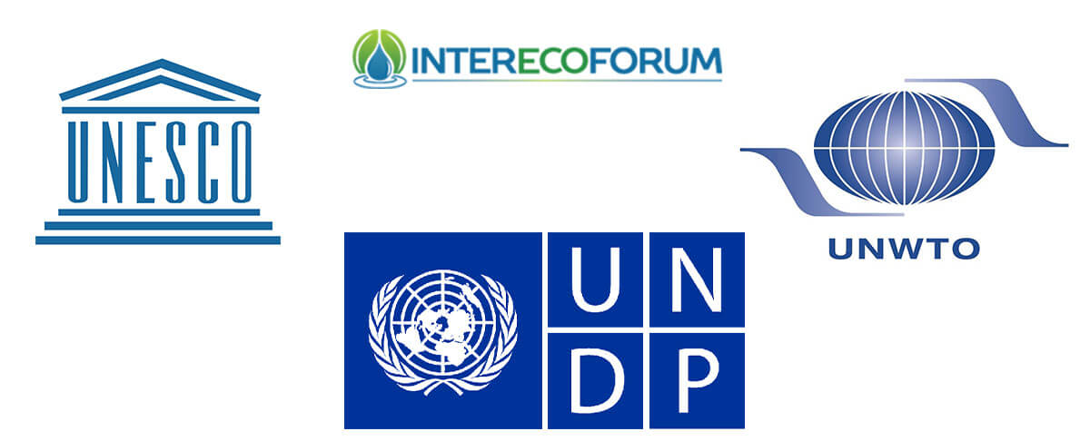InterEcoForum and UN agency logos