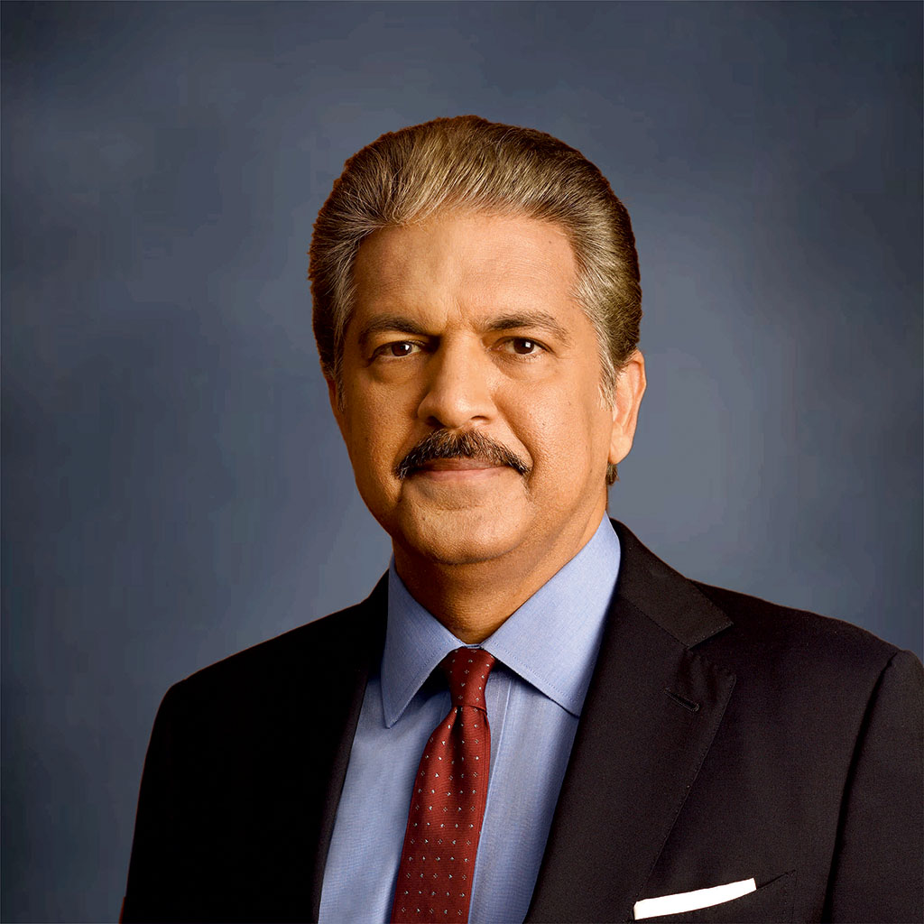 Mr. Anand Mahindra, Chairman, Mahindra Group