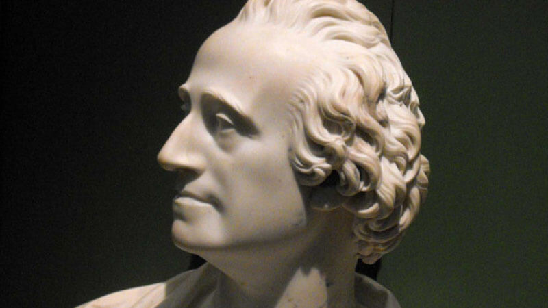 Adam Smith bust
