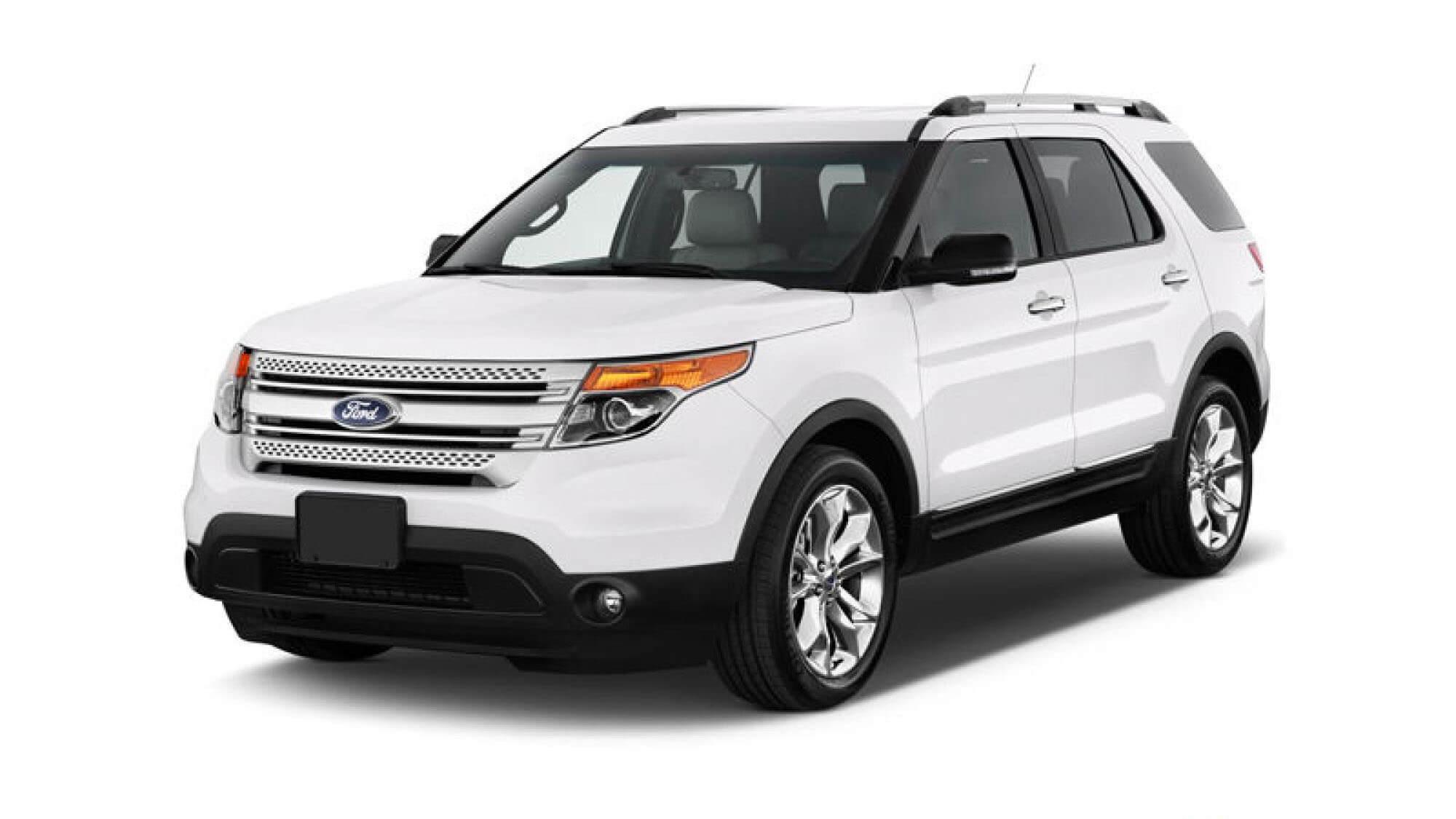 Ford Explorer 2014 model