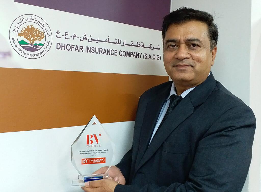 Dhofar Insurance CEO, Sunil Kohli