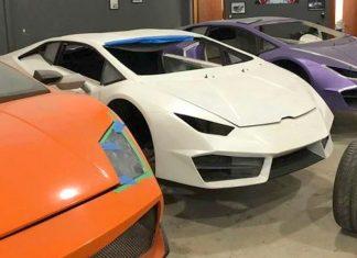 Fake supercar factory
