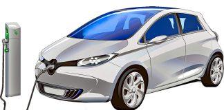 Electric car (EV) charging station