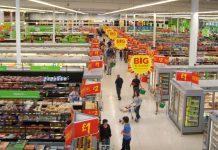 ASDA supermarket interior