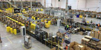 Amazon warehouse in Spain