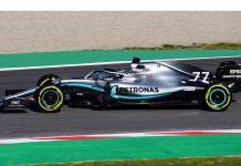 2019 Mercedes F1 car