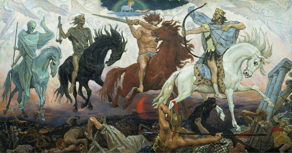 Four Horsemen of Apocalypse, by Viktor Vasnetsov