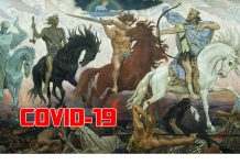 Four Horsemen of Apocalypse, by Viktor Vasnetsov
