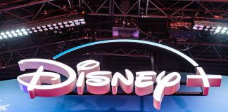 Disney+ Booth And Signage D23 Expo 2019