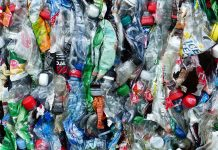 PET plastic waste