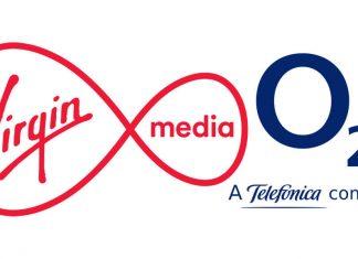 Virgin Media and O2 logos