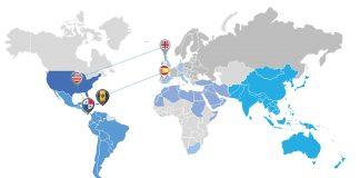 ActiveRE world map