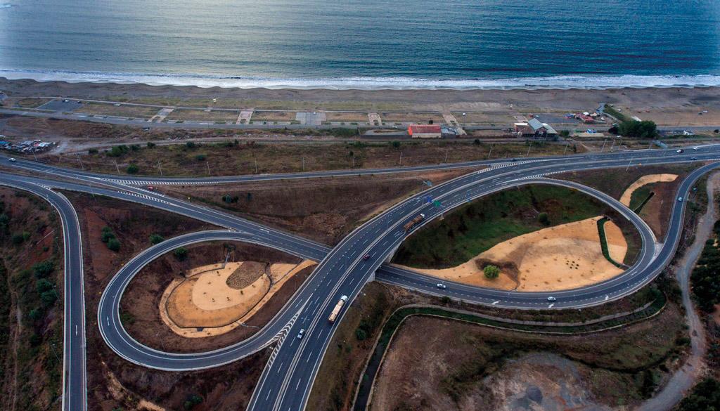 Autopista Costa Arauco Chile