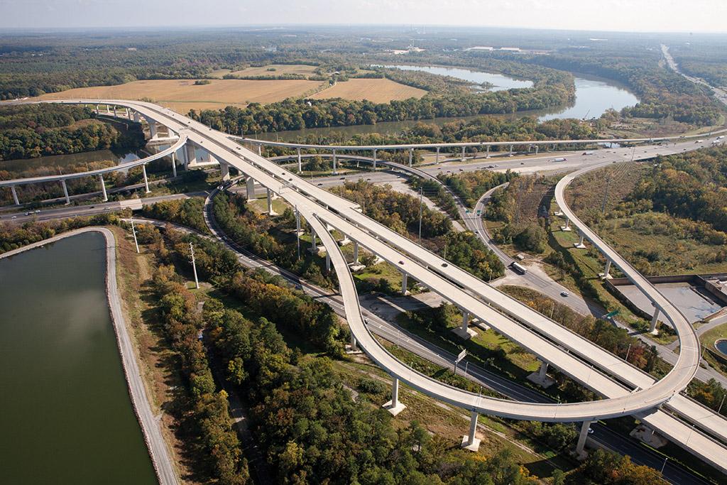 Pocahontas Parkway, Richmond, Virginia, USA