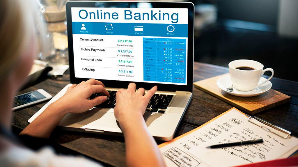 Online Banking, Laptop