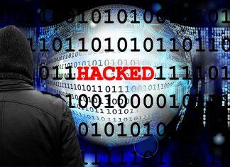 Illustration binary data hacked