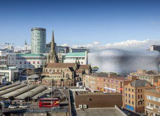 Birmingham UK skyline