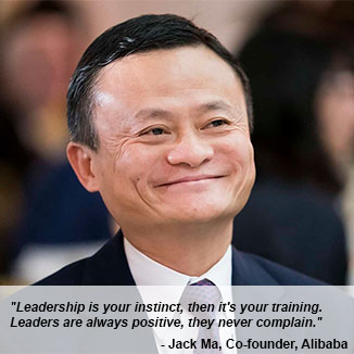 Quote: Jack Ma, ex-Alibaba