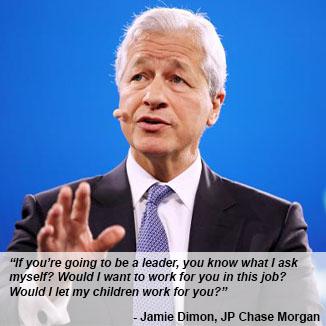 Quote: Jamie Dimon, JP Chase Morgan