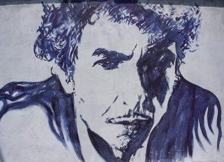 Bob Dylan graffiti