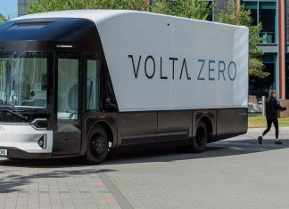 Volta Zero electric truck EV