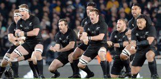 New Zealand All Blacks - pre-match haka challenge