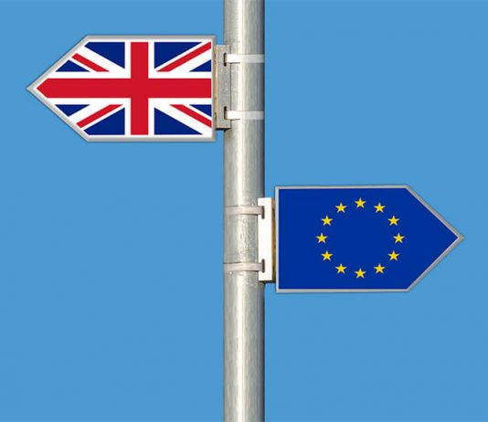 flags uk eu, brexit