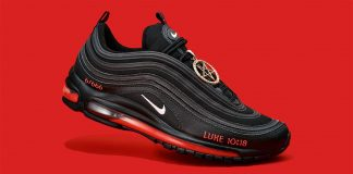 Limited-edition Nike Air Max 97s trainers: Satan Shoes