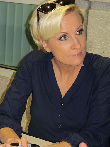 Mika Brzezinski, MSNBC journalist