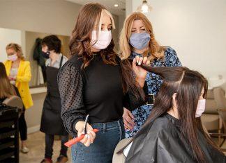 Social enterprise hair and beauty salon