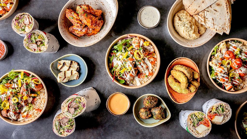 Sessions Market food selection (Photo: Justin DeSouza)