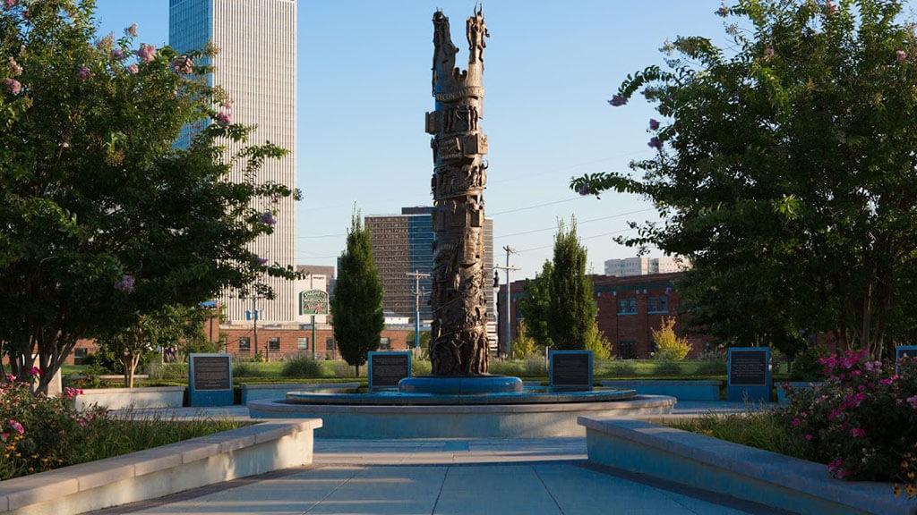 Tulsa Massacre memorial